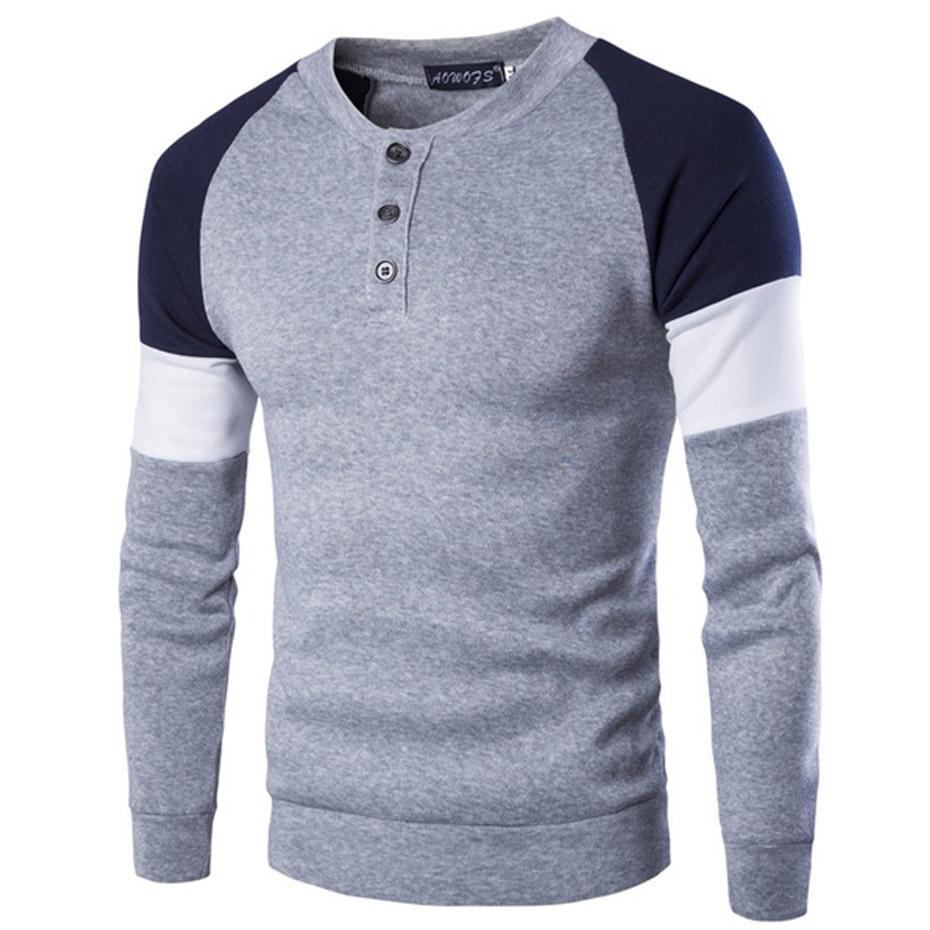 ZOGAA 4XLSpring Autumn Casual Patchwork Slim Long Sleeve Shirt Men Muscle Top Blouse Men Casual Brand Shirt Men Street Wear in T Shirts from Men 39 s Clothing