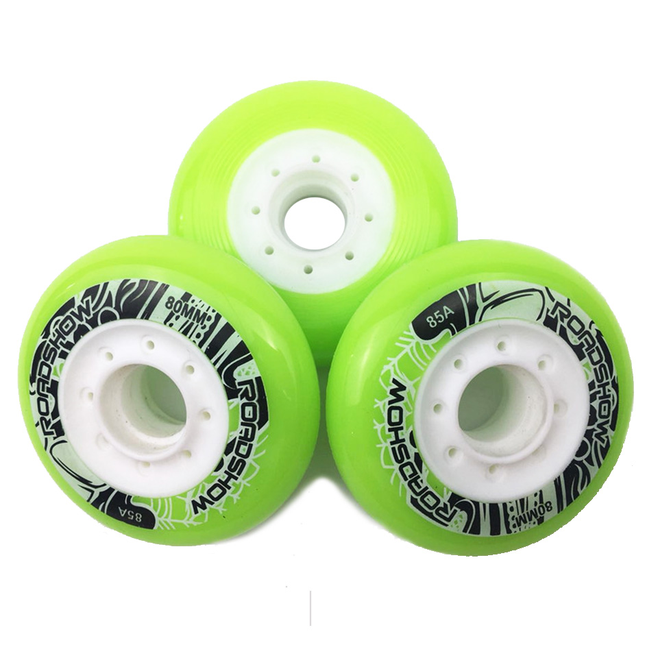 Frank 8 Pieces/lot Inline Skates Wheels 85a 80 76 72mm Tires Rodas For Fsk Slalom Hv High Ksj Wfsc Igor Ilq-11 Skating Bearing Spacers Big Clearance Sale Scooter Parts & Accessories Scooters