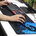 Loja Zimoon Xinlong Grande Gaming Mouse Pad Borda Bloqueio Esteira Do Rato Velocidade/Controle de Versão Para A Barra do Internet Mousepad 6 tamanhos