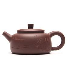 ALLE-Handgemachte Keramik Teekanne 100 ML Lila Schlamm Tee-Set Lila Ton Zisha Yixing KungFu Na Fu Topf Teekanne krug Chinesische Geschenke