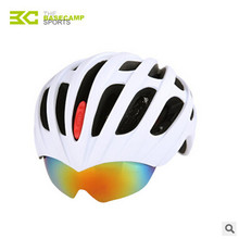 Bicycle Helm Cycling Helmet Casco Ciclismo Bike Helmet Ultralight Integrally Outdoor Equipment Integrally Molded With Eyewear