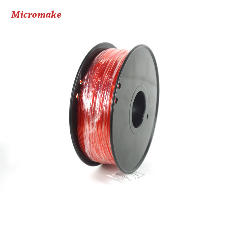Micromake 3D Printer Filament High Quality PLA Materials 1 75mm for 3D Printer 1kg Environmental Consumable