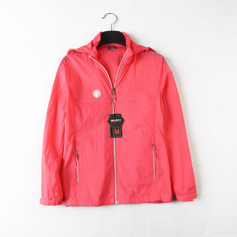Summer Women Quick-dry Skin Jackets Anti-UV Windproof Breathable Coats Outdoor Sports Clothing Camping Hiking Female Jacket
