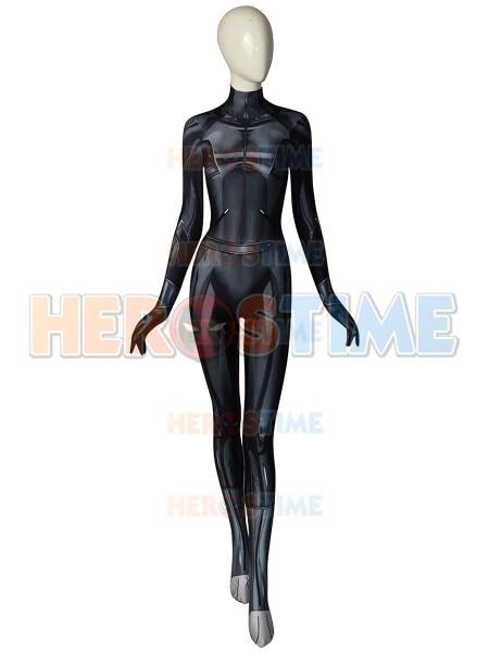 Battle Angel WomenSpandex Tight Suit Jumpsuit Cosplay Costume One Set Alita