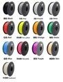 Новый MakerBot/UP/Мендель 13 цветов Дополнительно 3d принтер накаливания НОАК 1.75 мм/3 мм 1 кг пластиковые Резина Расходные Материалы