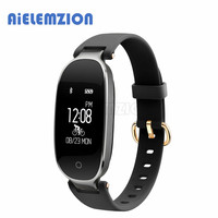 AiELEMZION S3 Bluetooth Sports Smart Band Dynamic Heart Rate Monitor Pedometer Wristband Fitness Tracker Bracelet Call
