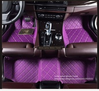 Specially car floor mats make for Toyota Highlander Land Cruiser 200 full cover car styling rugs carpet case liners (2007 now)