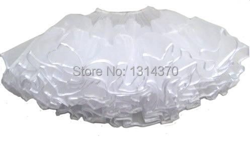 Tutu sukně houpačka Rockabilly Petticoat spodní prádlo Crinoline Fluffy Pettiskirt pro svatební Svatební Retro Vintage žena Plesové šaty