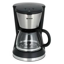 Кофеварка Vitek VT-1506 BK (Мощность 550 Вт, объем 0.7 л, автоподогрев, противокапельная система, фильтр)