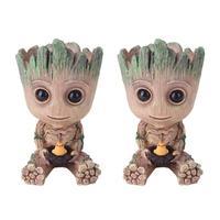 Baby Groot Figure Planter Pot Flowerpot Guardians Of The Galaxy  1