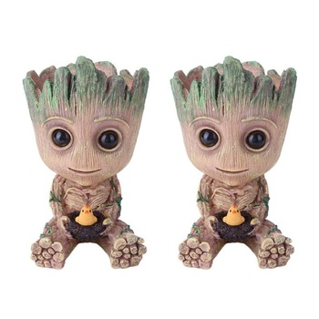 Baby Groot Figure Planter Pot Flowerpot Guardians Of The Galaxy  1