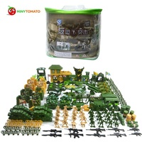 Free Shipping 200pcs/lot Plastic Soldier set Military Toy Model Set With Tank Helicopter Model Best Toys for Children Birthday