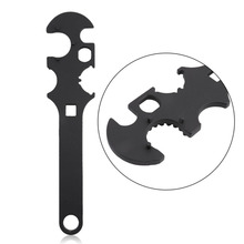 Universal Steel Armorers Wrench Repair Tools Heavy Duty Gunsmith Tool  Multi-use Hand Tools Castle Nut Barrel Accessories