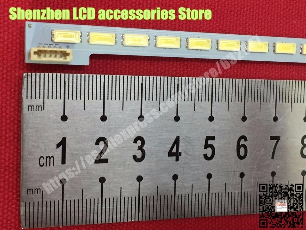 SSL460-3E1C LJ64-03471A LTA460HQ18 46 LED bande TRAÎNEAU 2012SGS46 7030L 64 REV1.0 1 Pièce = 570mm * 7mm * 1.2mm 64LED d'origine 100%