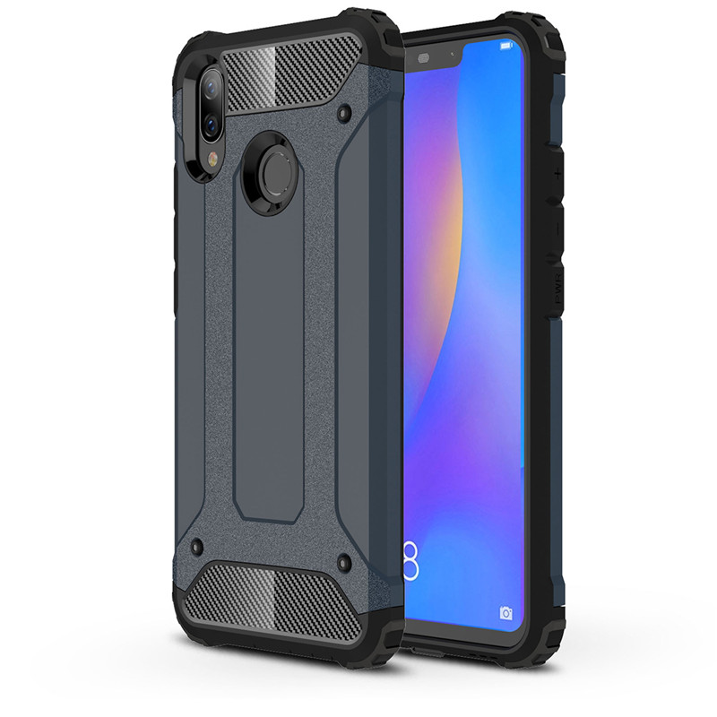 sneakers for cheap 7392b 8ea02 US $3.03 18% OFF|For Huawei Nova 3i Case Hard TPU Rugged Hybrid Armor Phone  Case P Smart+ Protective Slim Cover For Huawei P Smart Plus (XX1221)-in ...