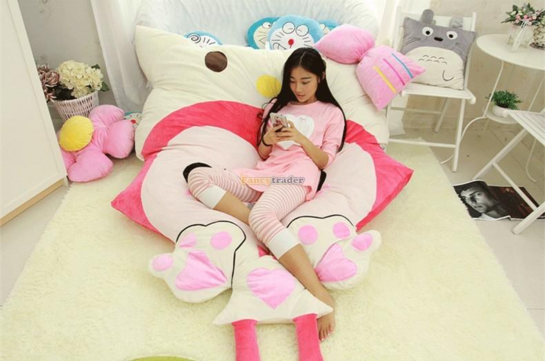 Fancytrader 230cm X 165cm Huge Giant Pink ALI Fox Bed Carpet Sofa Tatami, Free Shipping FT90360 (9)