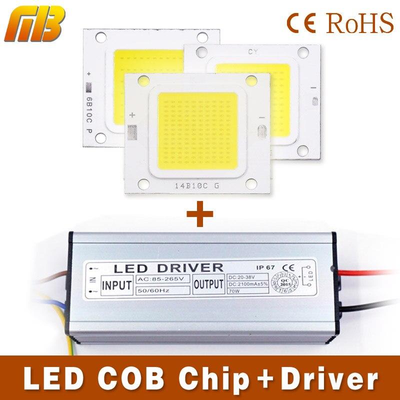 Led Cob Chip Light 10w 20w 30w 50w 70w Led Lamp Led