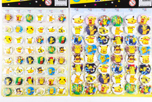 48pcs Cartoon Action Figures Pokemon Go Toys Brooch Badge Pokemon Pins Ornaments Animation Metal Buckle Small Toys Kid Gifts