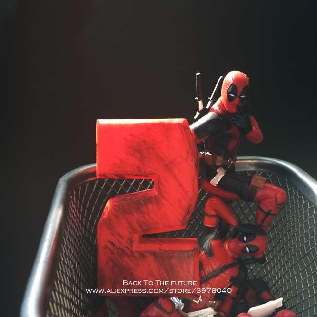 X-Men 6-8cm Deadpool 2 Action Figure Posture Anime Decoration PVC