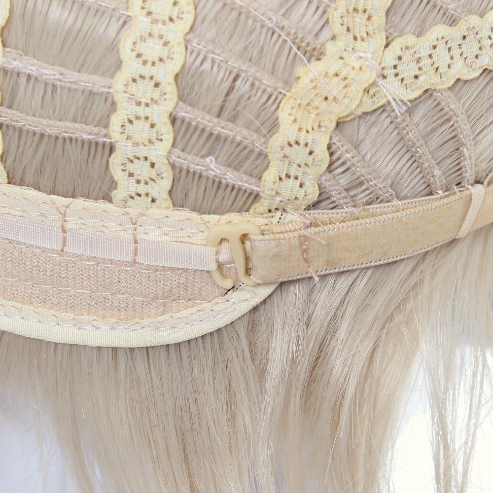 cctoo 12 ιντσών ανοιχτό χρυσό σύντομο - Συνθετικά μαλλιά - Φωτογραφία 5