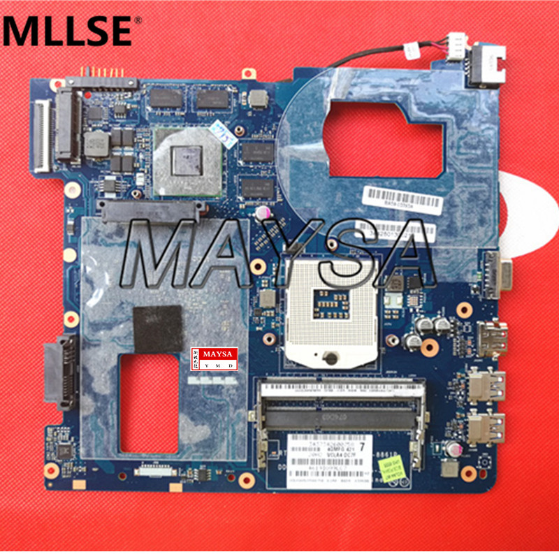 все цены на Fit For Samsung NP350 NP350V5C 350V5X Laptop motherboard QCLA4 LA-8861P BA59-03397A DDR3 HD 7600M GPU 100%test онлайн