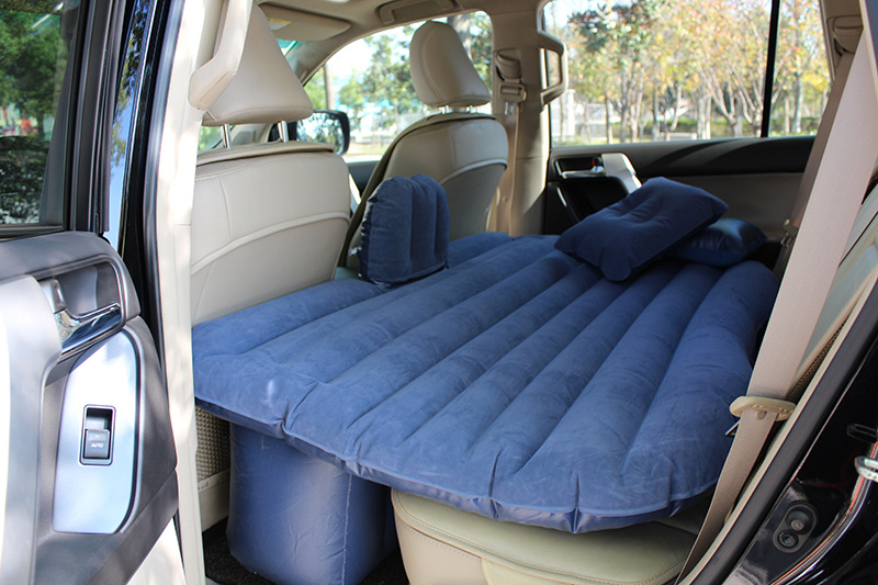 Car Travel Inflatable Mattress Inflatable Bed Camping Back Seat Extended Mattress for Parent-child or Lover (Gray ) betos car air mattress travel bed auto back seat cover inflatable mattress air bed good quality inflatable car bed for camping