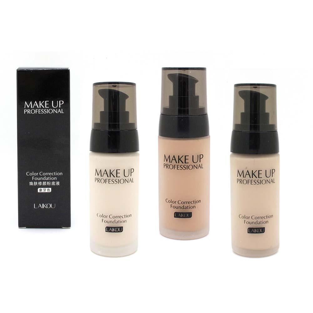 Aliexpress.com : Buy 2017 New Women Pro 3 Colors Nude Makeup Face ...