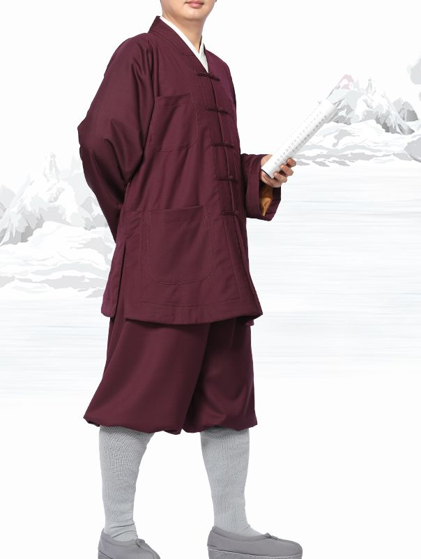 2color Summer/&spring buddhist Monks suits ZEN uniforms lay meditation clothing