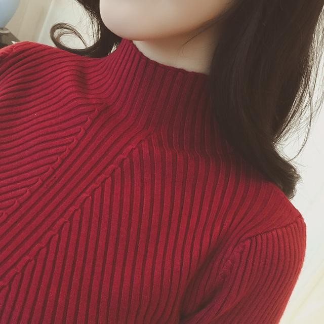 New Women's Turtleneck Sweater Women Sweaters Fashion Jersey Women Winter 2018 Autumn Pullover Women Sweater Jumper Truien Dames