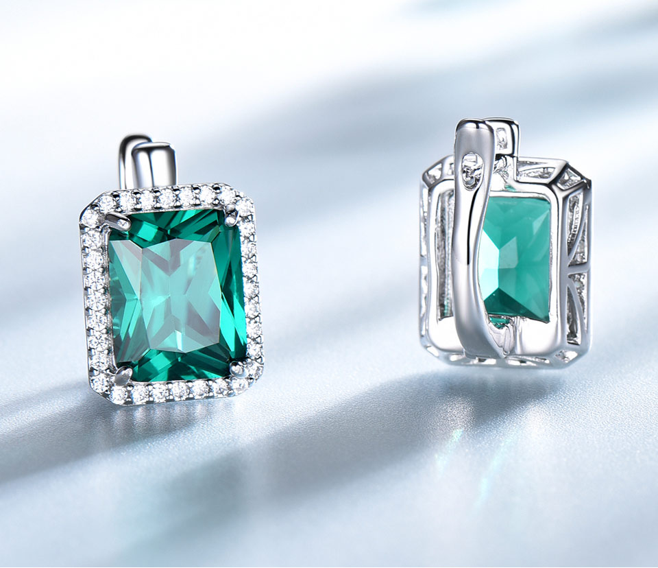 -Emerald-925-sterling-silver-clip-earrings-for-women-EUJ082E-1-PC_04