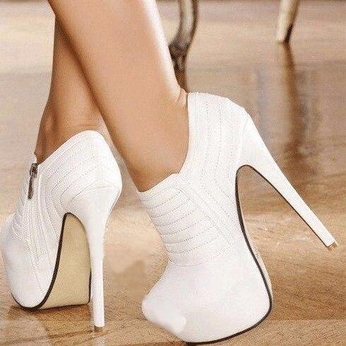 fotos oficiales d7f64 57251 € 66.96 |2017 la MÁS nueva llegada zapatos de tacón alto Brillo profesional  banquete tacones finos zapatos de las mujeres venta caliente de la manera  ...