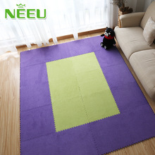 Baby Playing Puzzle Mats Suede Foam Floor Mat baby Crawling Pad Split Joint Play Mat 30*30cm for Child,kid Living Room,bedroom