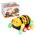 Bee Tip lorry car modle Flip stunt car Colorful color kids baby toys Mini small Armored car Juguetes Brinquedos Animal car