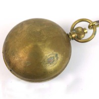 wholesale CLASSIC ANTIQUE MECHANICAL MEN COPPER POCKET WATCH freeship