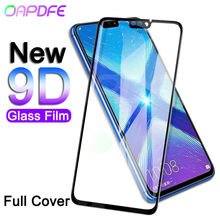 9D Tempered Glass on the For Huawei Honor 8X 8C 8A 9i 10i 20i 20 V20 V10 V9 Play Note 10 Screen Protector Protective Film Case(China)