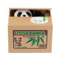 Cute Intelligent Panda Money Box Automatic Stole Piggy Bank For Coins Mouse Pig Robotic Panda Coin
