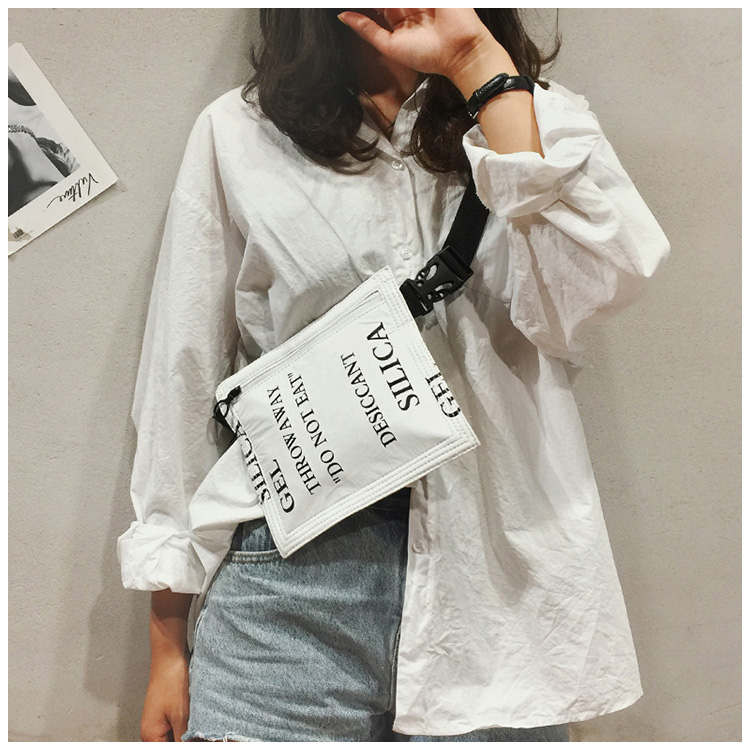 New Personality Alphabet Bag Female Leisure ackage Simple Fashion Chain Shoulder Messenger Bag