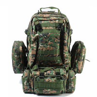 High Quality Large Capacity Outdoor Travel Military Tactical Backpack Men Multifunctional Hiking Camping Rucksack Bag