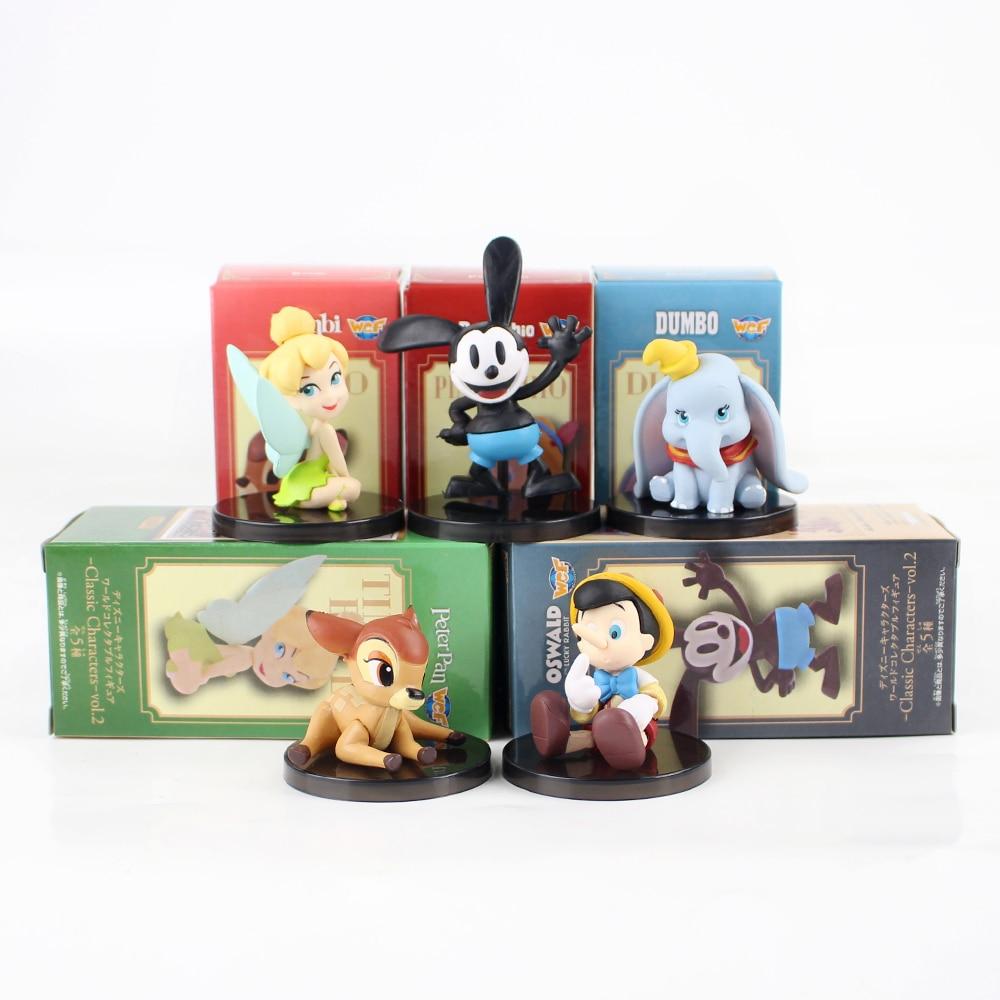 Banpresto WCF Classic Characters Snow White Dopey Tramp Figaro Peter Pan Oswald