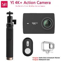Xiaomi Yi 4k + действие Камера Ambarella H2 12MP 155 градусов 2,19 сырые Yi 4k + Первые 4 К/60fps спортивные Камера [Международный версия]