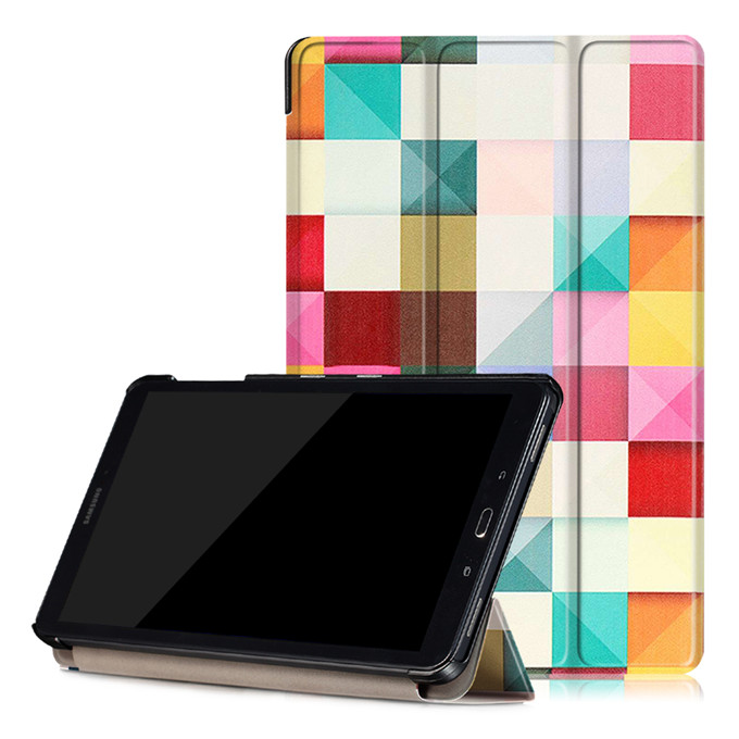 Painting Smart Cover For Samsung Galaxy Tab A A6 10.1 T580 T585 Case for Samsung Galaxy Tab A 10.1 2016 T585 T580 Funda Case fashion pu leather flip case for samsung galaxy tab a a6 10 1 2016 t580 t585 sm t580 smart case cover funda tablet sleep wake up