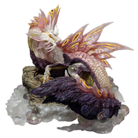 2018 New Monster Hunter Game Model Monster Hunter X Dragon Model Collectible Monster Figures Action
