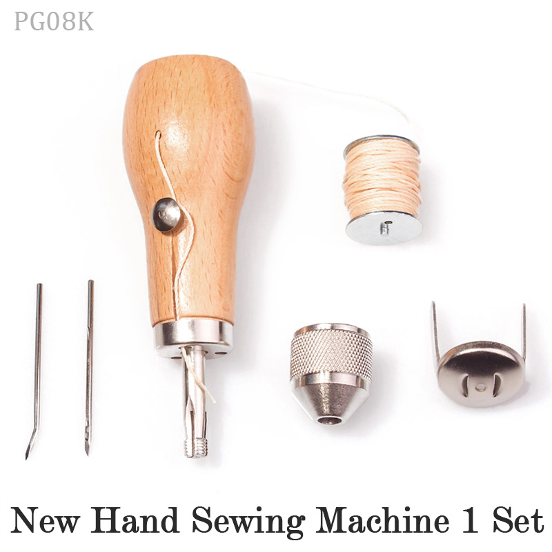 Professional Leathercraft Sewing Stitching Awl Tool Supplies,DIY Leather Craft Heavy Fabric,Canvas,Shoe,Repair Lockstitch Set