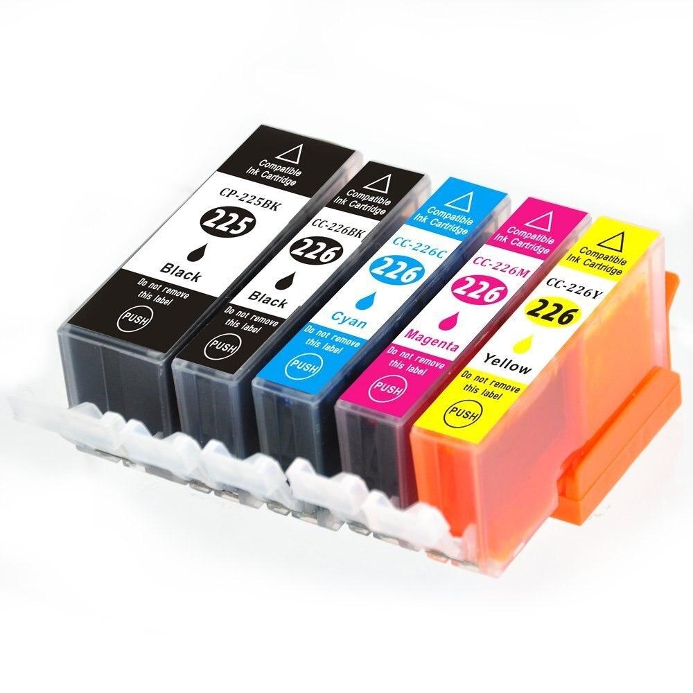 Чернильный путь 5PK pgi-225 CLI-226 картридж для Canon PIXMA MX712 MX882 MX892 PGI225 струйный принтер