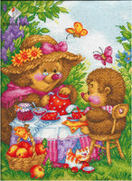 Diy Diamond Painting Hedgehog Needlework Square Cross Stitch Embroidery Crystal Resinstone Mosaic Handicraft