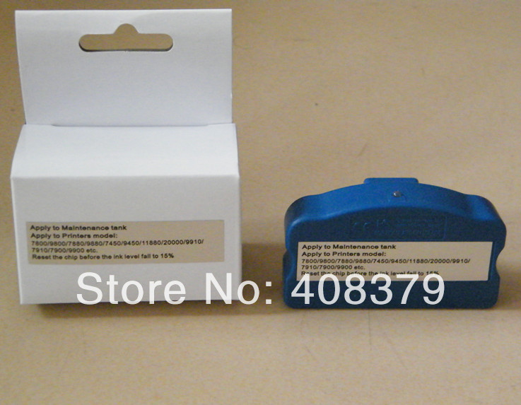 ФОТО chip resetter for Stylus pro PX-7500/9500 printer maintenance tank