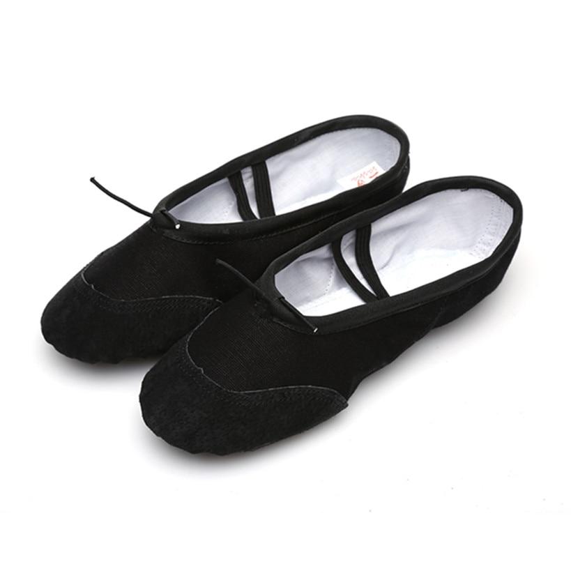 Black ballet shoes for girls