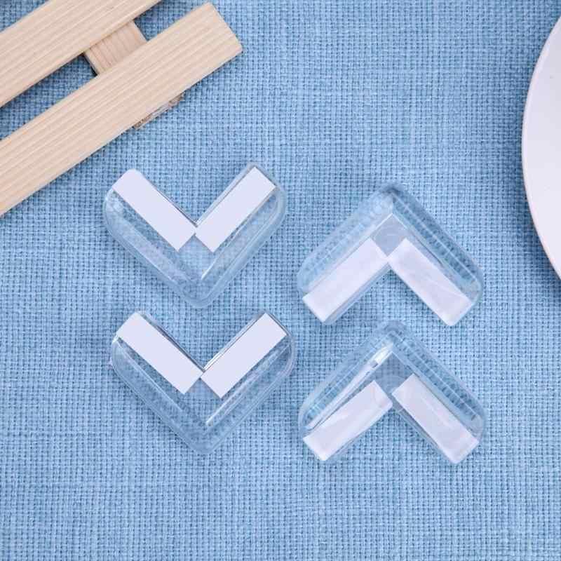 4 Silicone An Toàn Bảo Vệ Bịt Góc Bàn Bảo Vệ Từ Trẻ Em Anticollision Cạnh Góc Cận Vệ Dành Cho Trẻ Cho Bé