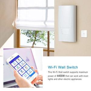 Image 2 - Умный котельный переключатель, 1 шт., Wi Fi, водонагреватель, управление через приложение Ewelink, голосовое управление Echo Home, стеклянная панель
