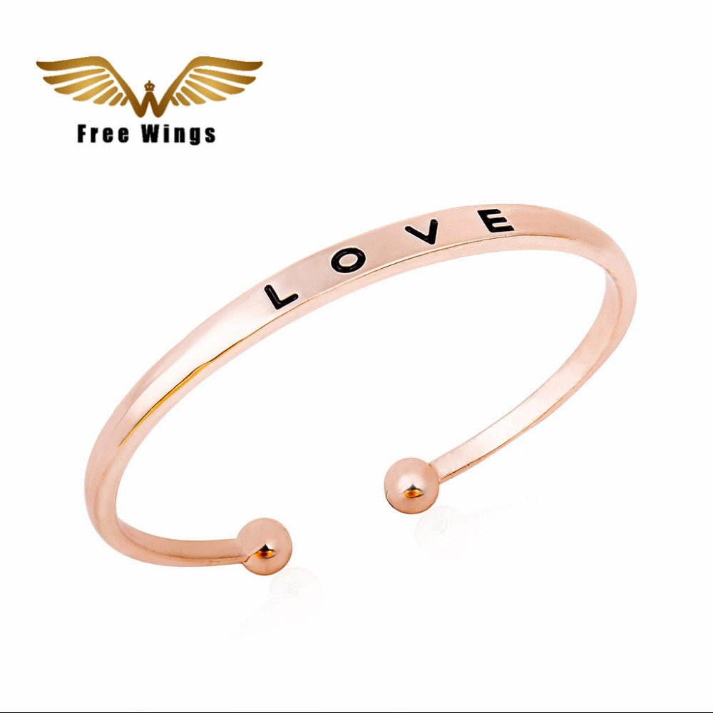 screw women store for bracelets color gift product steel stainless bangle gold bracelet bangles jewelry love wholesale